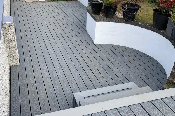 Composite Decking Project - Plymouth