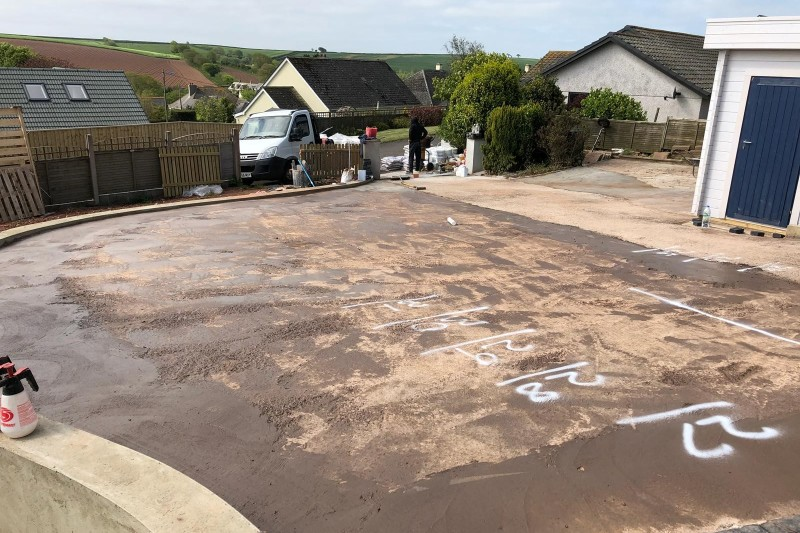 Front Drive Resin Transformation (UV protected) in Kinsgbridge