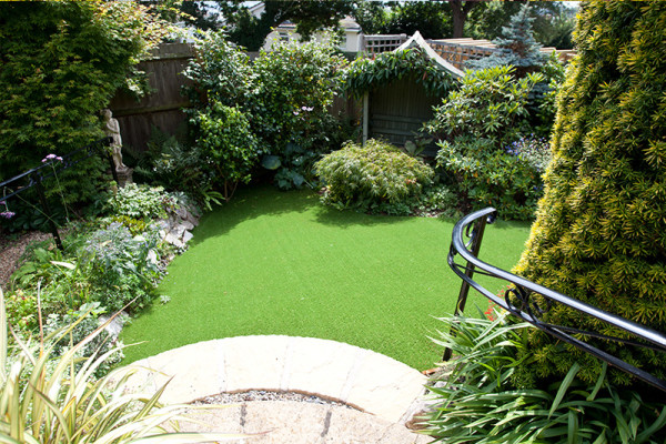 Artificial Grass Garden Project - Bridgwater
