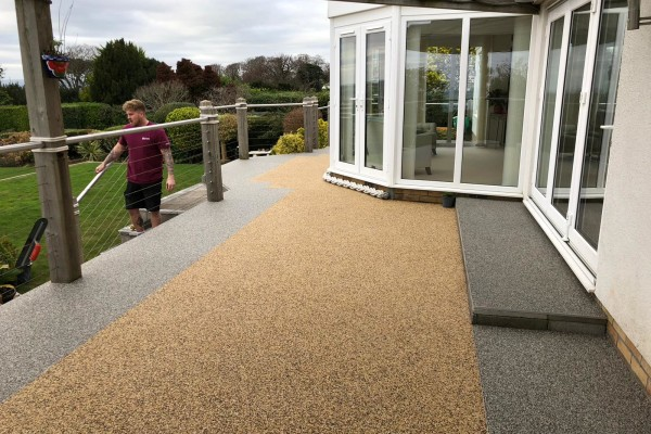 Resin patios - Torquay