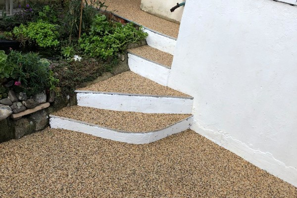 Resin Driveway / Step Project - Teignmouth