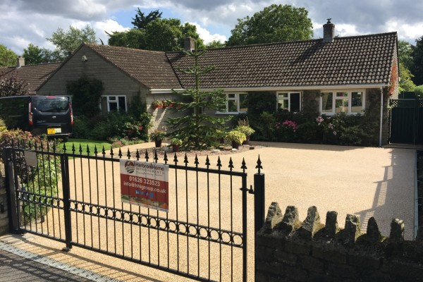 Resin Driveway Project - Somerton