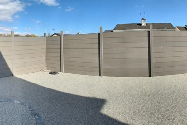 Composite Fencing Project - Plymouth