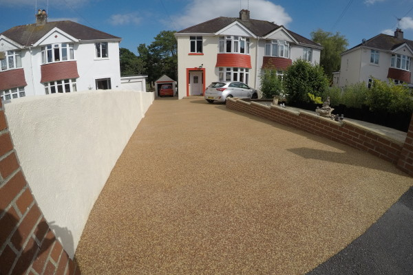 Resin Driveway Project - Torquay