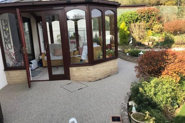 Resin Patio Garden Project - Totnes