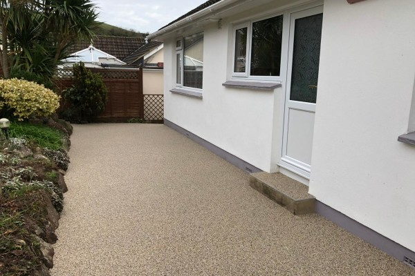 Resin Pathways Project - Teignmouth