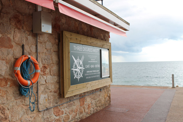 Resin Cafe Front Project - Babbacombe