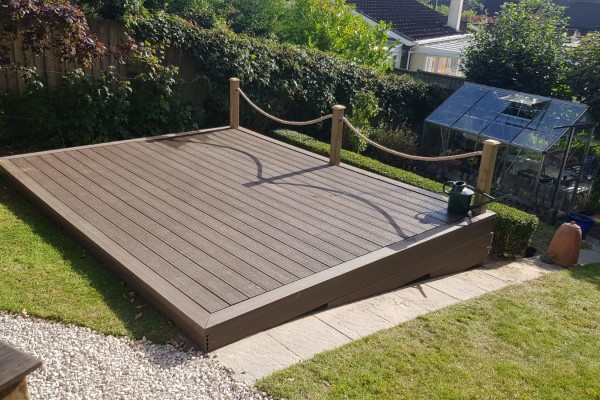 Decking Project - Bovey Tracey