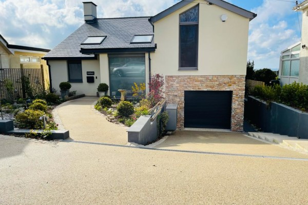 Resin Driveway Project - Salcombe