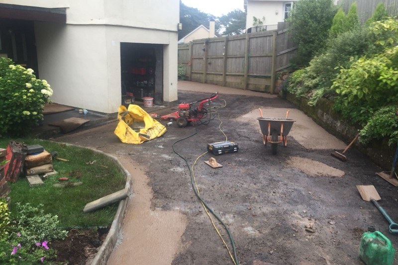 Resin Driveway Transformation  in Newton Abbot