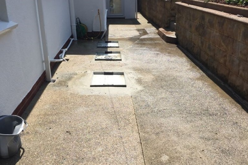 Resin Driveway & PatioTransformation  in Teignmouth