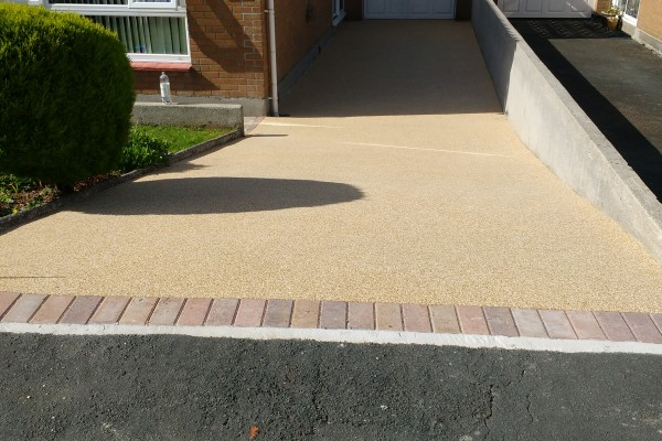Resin Driveway Project - Plymouth