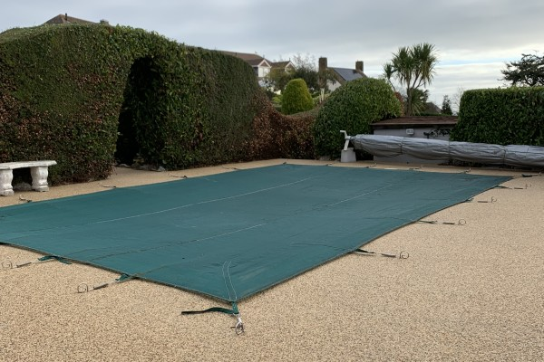 Resin Pool Surround Project - Torquay