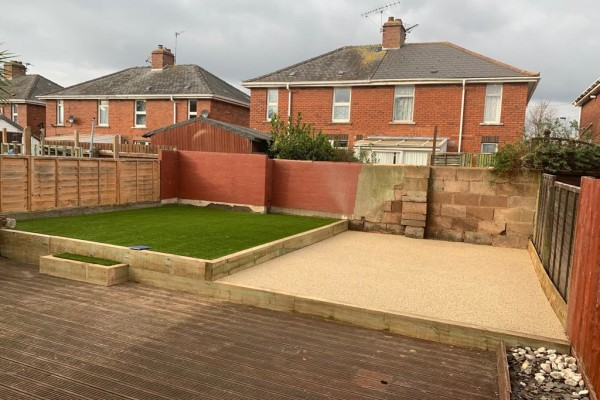 Resin and Artificial Grass Project - Bigbury on Sea