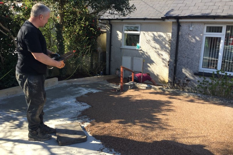 Resin Driveway And Paths Transformation  in Truro