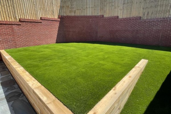 Artificial Grass & Landscaping Project - Newton Abbot