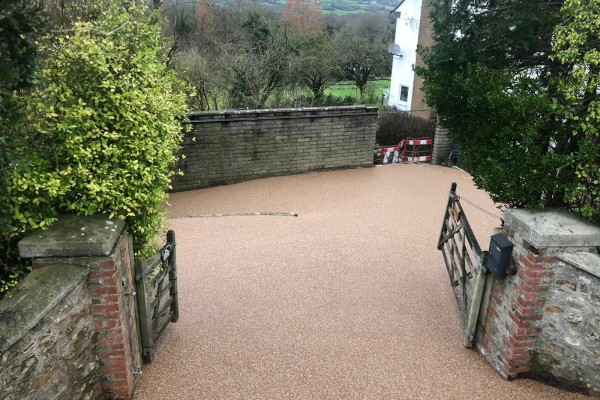 Resin Driveways Project - Axminster