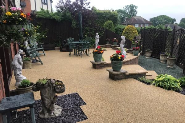 Resin Garden Patio Project - Seaton
