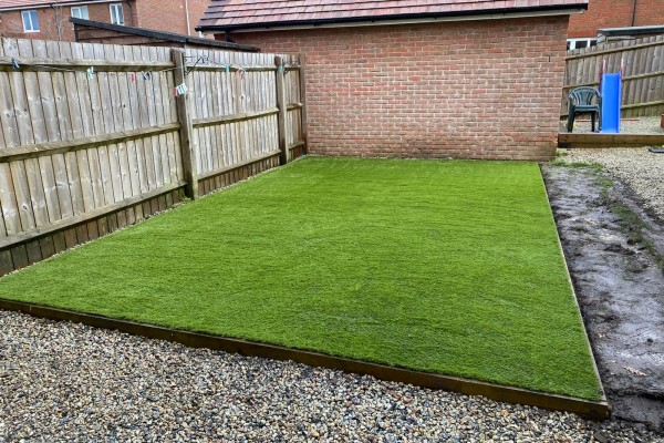 Artificial Grass Project - Beaworthy