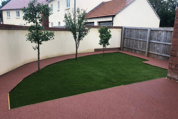 Resin and Artificial Grass Project - Dawlish