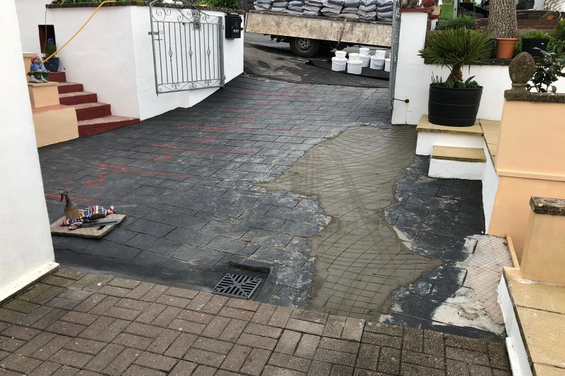Resin Driveway Transformation in Liskeard