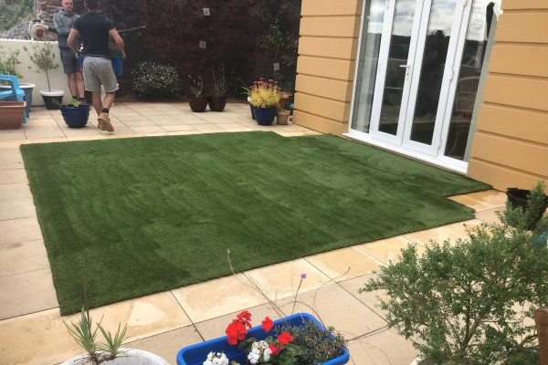 Artificial Grass Project - Paignton