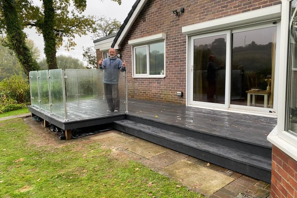 Decking Project - Newton Abbot