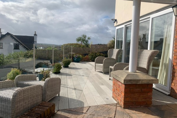 Decking Project - Teignmouth