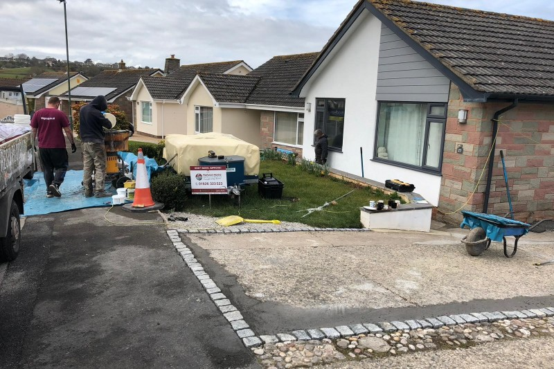 Resin Driveway Transformation in Paignton