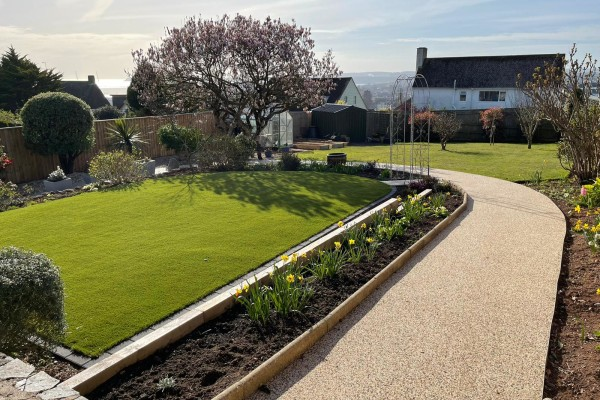 Artificial Grass & Resin Project - Paignton
