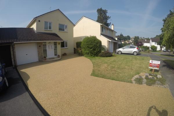 Resin Driveway Project - Newton Abbot