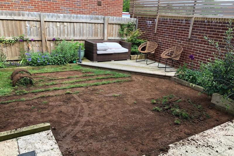 Garden Artificial Grass Transformation  in Exeter