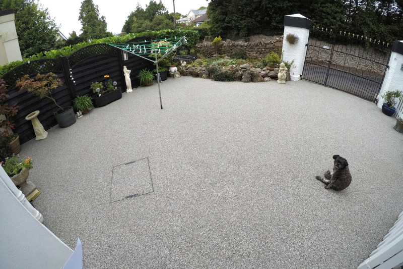 Resin Patio in Torbay