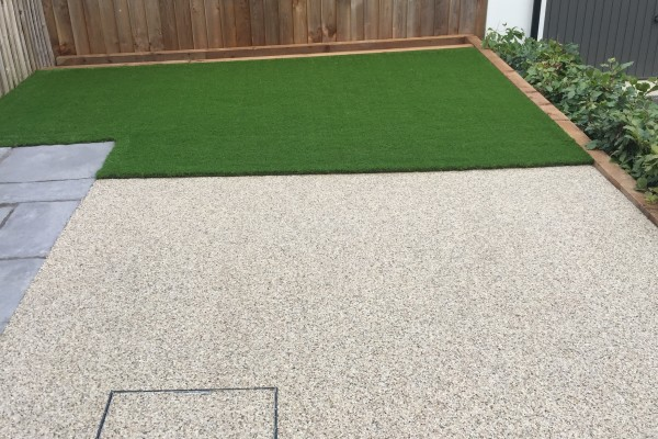 Artificial Grass and Resin Project  - Newton Abbot