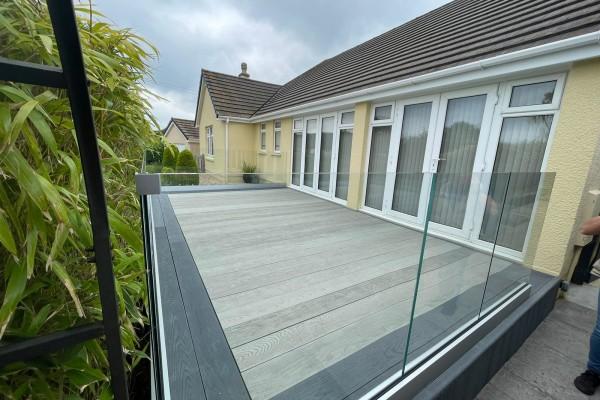 Decking Project - Kingsteignton Devon