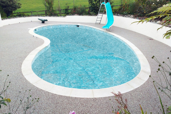 Resin Pool Surround Project - Dartmouth