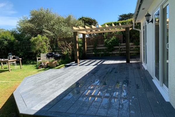 Composite Decking Project - Padstow