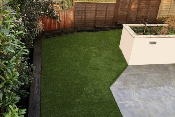 Landscaping and Artificial Grass Project - Honiton
