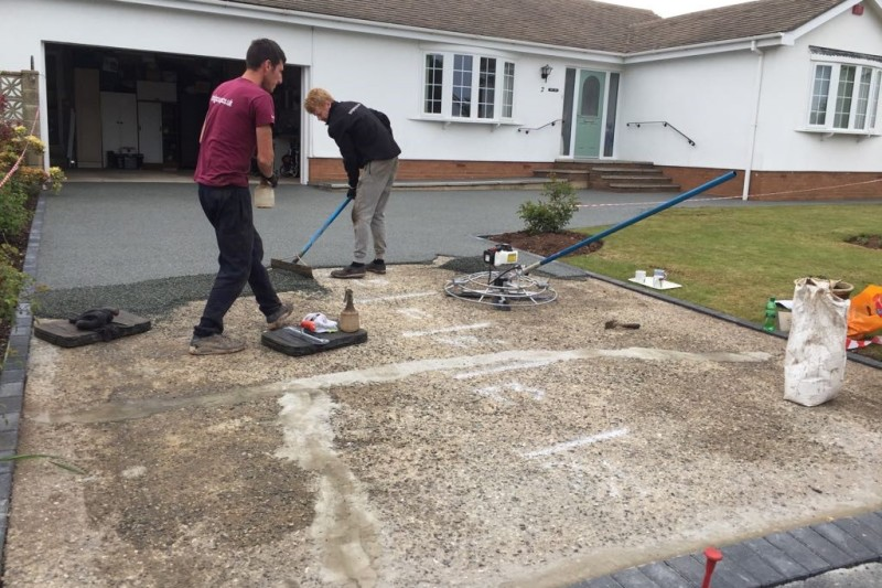 Resin Driveway Transformation  in Dawlish