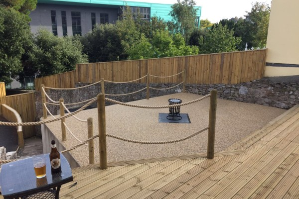 Decking Project - Ottery St.Mary