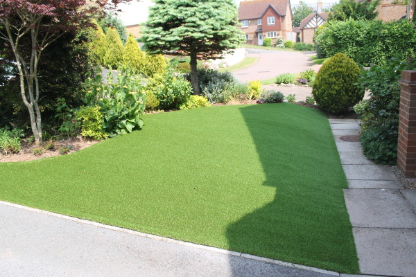 Artificial Grass and Resin Project -  Teignmouth