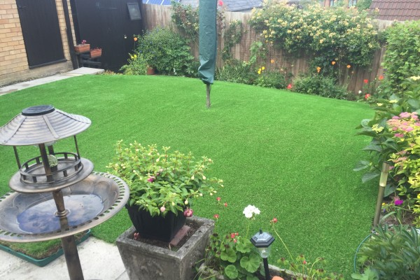 Artificial Grass Project - Kingsteignton