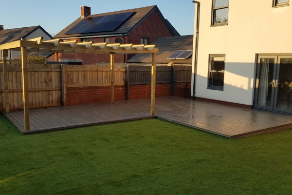 Decking Project - Paignton