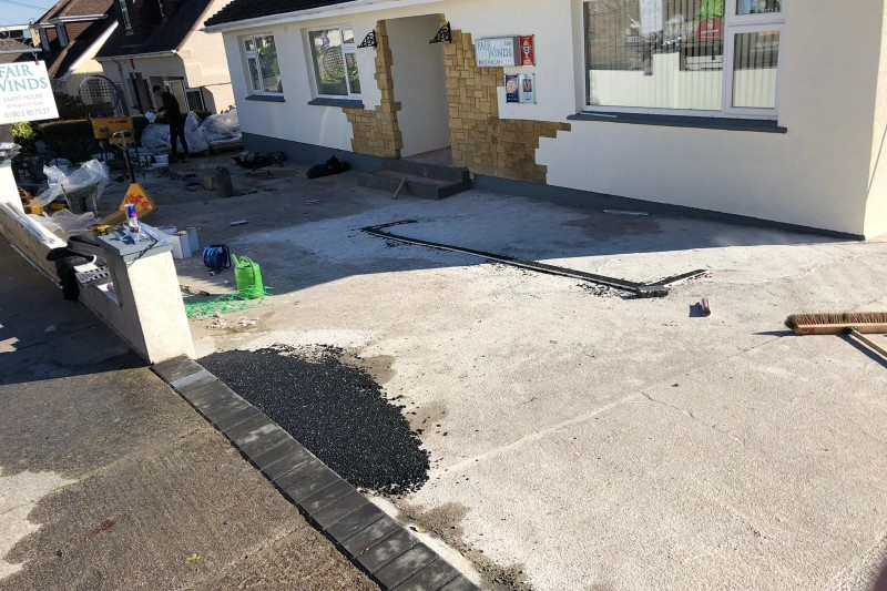Resin Driveway Transformation  in Brixham