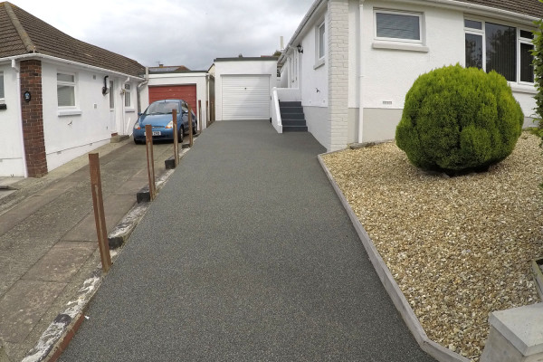 Resin Driveway Project - Newton Abbot