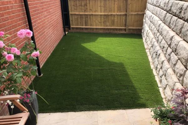 Artificial Grass Project - Axminster