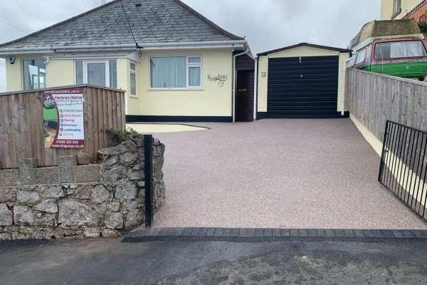 Resin Driveway Project - Teignmouth