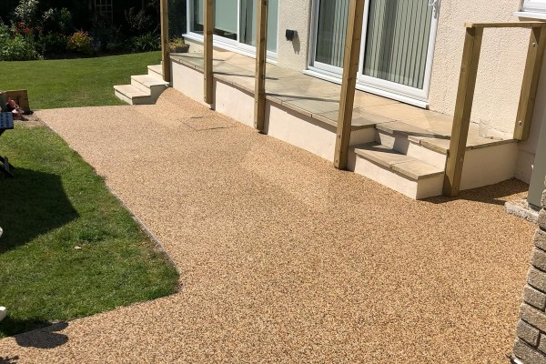 Resin Garden Patio Project - Ogwell