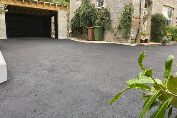 Tarmac Driveways Project - Plymouth