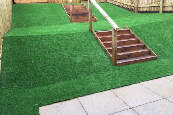 Artificial Grass Project - Cornwall